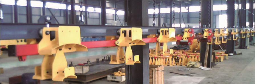 KDTC100/14 型矿用电缆吊挂拖移车